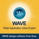 طراحی سیستم تصفیه آب صنعتی با نرم افزار WAVE - آموزشگاه تخصصی تصفیه آب و تصفیه فاضلاب زیست نگار