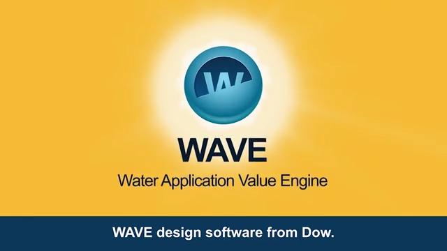 طراحی سیستم تصفیه آب صنعتی با نرم افزار WAVE