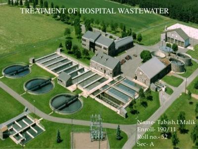 فاضلاب بیمارستانی چیست؟